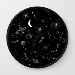 galactic pattern Wall Clock