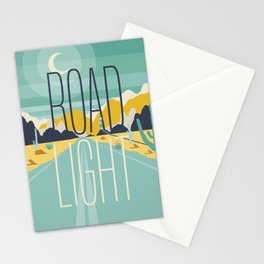 Road Light Stationery Cards