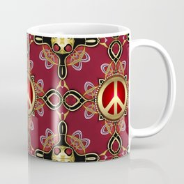 Peace Infinity Coffee Mug