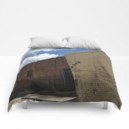 Stop being boring brick wall Alabama Comforters