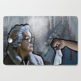 The Old Woman & the Cold Factory Cutting Board