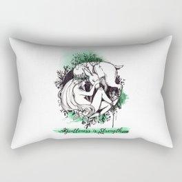 Gentleness is Strength Rectangular Pillow