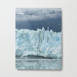 the marjorie glacier.  Metal Print