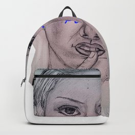 An Woman Backpack