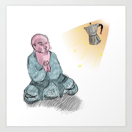 GOD GIMME THE STRENGTH Art Print
