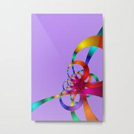 chaotic colors -1- Metal Print