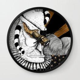 The Creator of Malignant Metaphors Wall Clock