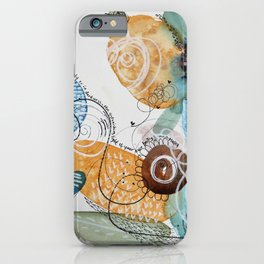 Light of Your Own Being Watercolor iPhone Case