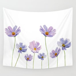 purple cosmos 2 Wall Tapestry