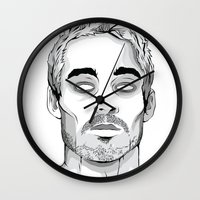 marc johns Wall Clocks featuring Daniel Johns by cjay