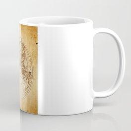World in Hemispheres Coffee Mug