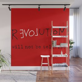 re-love-ution Wall Mural