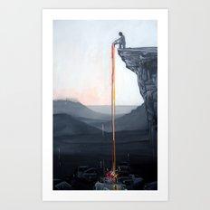A Neutral World Art Print