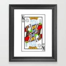 King of the Lab Framed Art Print