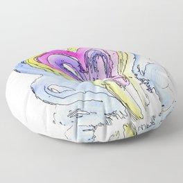 Flow Series #14 Floor Pillow