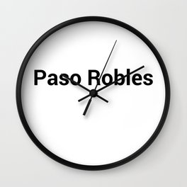 Paso Robles Wall Clock