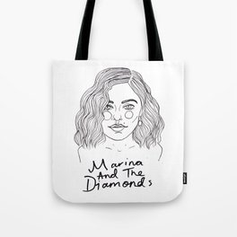 Marina Diamandis Tote Bag