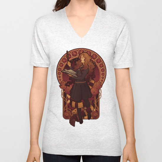 The Brightest Witch of Her Age Unisex V-Neck