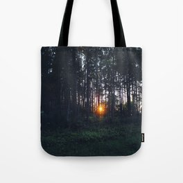 Glimmer of Hope #Sunset Tote Bag