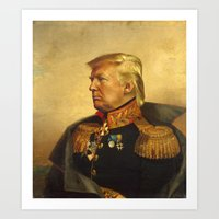 Donald Trump - replaceface Art Print