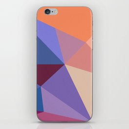 Abstract Geometry 01 iPhone Skin