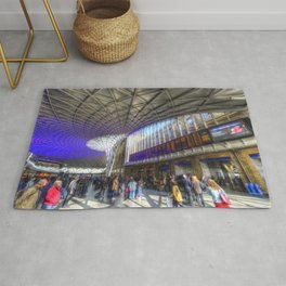 Kings Cross Station London Rug