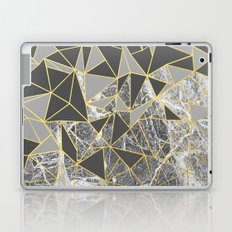 Ab Marb Grey Returned Laptop & iPad Skin