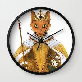Queen Elizabeth I - historiCATS edition Wall Clock