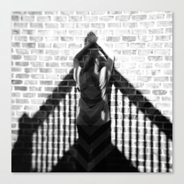 Invisible Climb - Holga photograph Canvas Print
