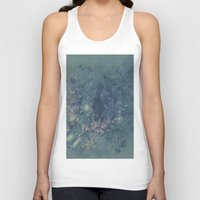 vintage floral Tank Tops featuring Vintage floral by nicky2342