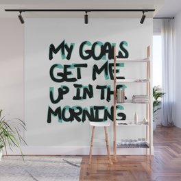 My Goals Wall Mural