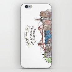 We Belong in San Francisco iPhone & iPod Skin