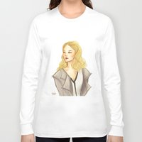 moriarty Long Sleeve T-shirts featuring elementary: moriarty by roanne Q