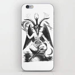 Baphomet - Satanic Church iPhone Skin