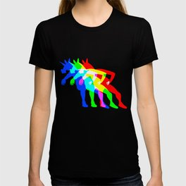RGB Unicorn V02 T-shirt