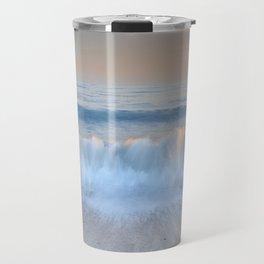 """""""Looking at the waves II"""" Sea dreams Travel Mug"""