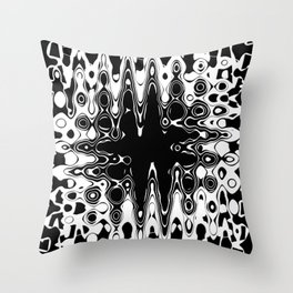 Histological Hole Experiment Throw Pillow