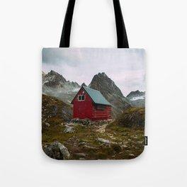 The Mint Hut in Hatcher Pass, Alaska Tote Bag