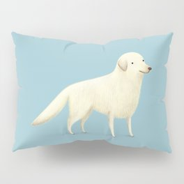 Golden Retriever Portrait Pillow Sham