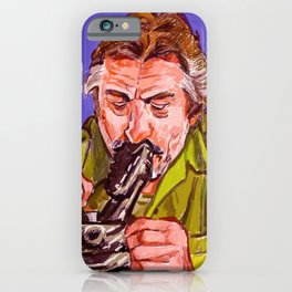 DeNiro in Jackie Brown iPhone Case