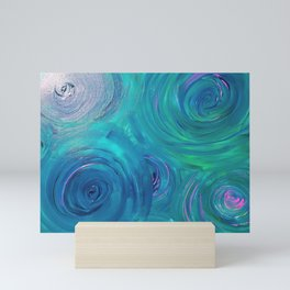 Blue Green Trance Mini Art Print