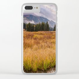 Colorado Fall Colors 3 Clear iPhone Case