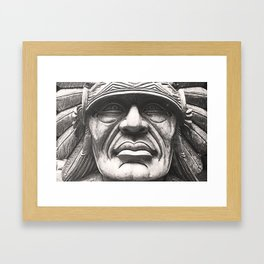 Marble Indian Framed Art Print