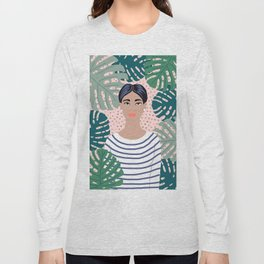 The Tropical Girl Long Sleeve T-shirt