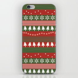 christmass and new year iPhone Skin