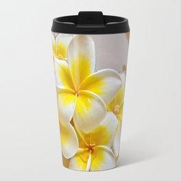 Plumeria Blossoms Travel Mug