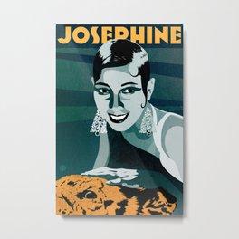 Josephine Baker Metal Print