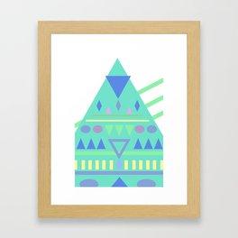TriPhone Framed Art Print