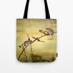 Two Small Mice Tote Bag