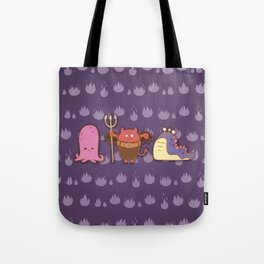 Monsters Tote Bag